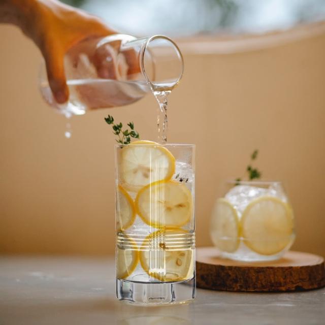 【ROGASKA 盧斯卡】英倫雅仕-高飛球杯400ml-2入Direction酒吧調酒杯(高球杯/直筒杯/調酒杯/Highball)