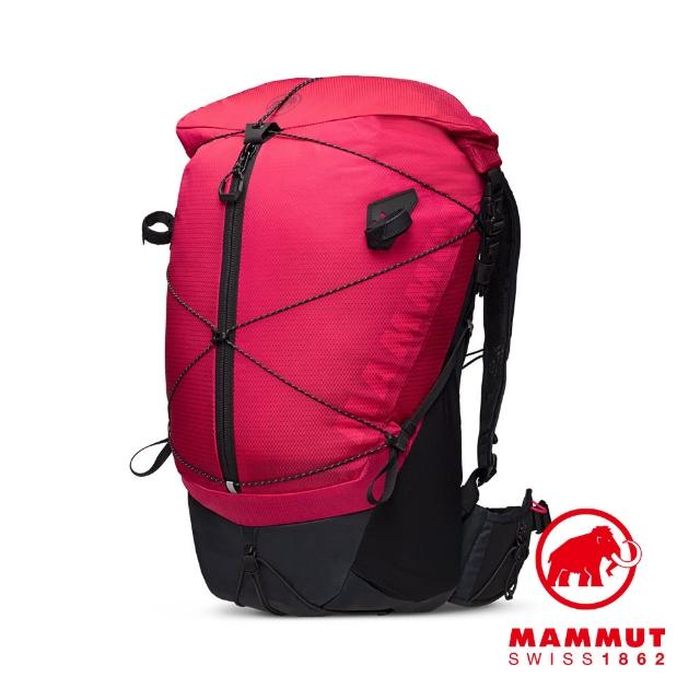【Mammut 長毛象】Ducan Spine 28-35 輕量健行後背包 火龍果/黑 #2530-00360