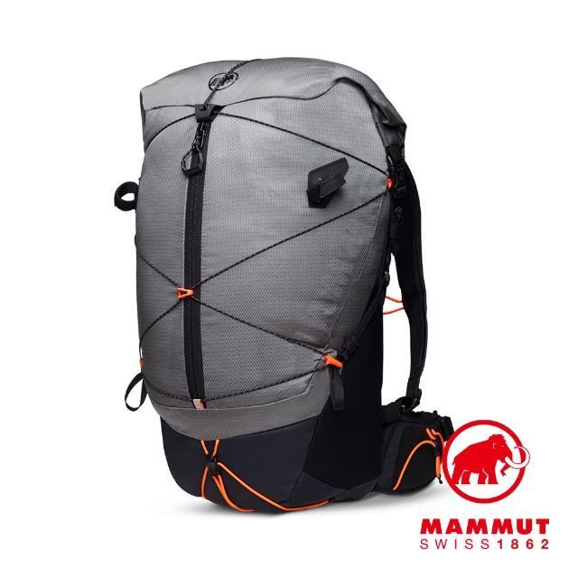 【Mammut 長毛象】Ducan Spine 28-35 輕量健行後背包 花崗岩灰 #2530-00360