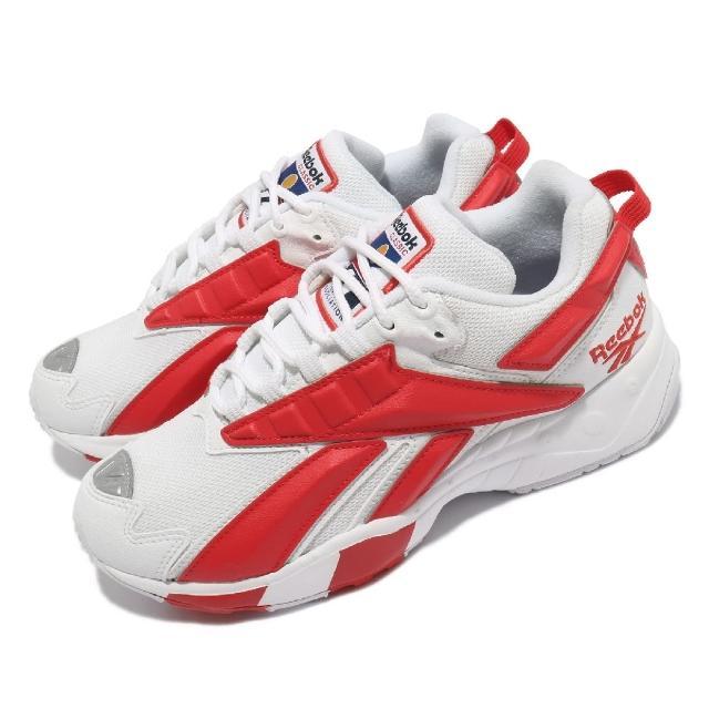 【REEBOK】休閒鞋 INTV 96 復古 運動 男女鞋 海外限定 舒適 大logo 情侶穿搭 紅 白(FV5476)