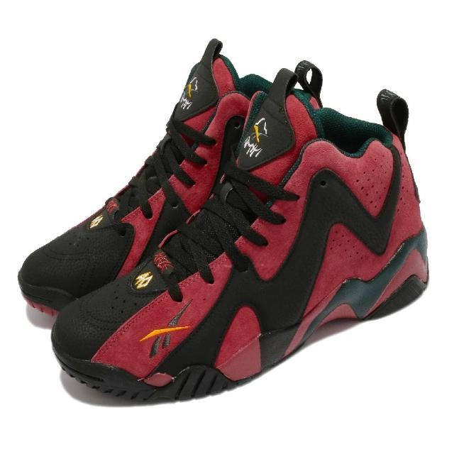 【REEBOK】籃球鞋 Kamikaze II 運動 男鞋 海外限定 避震 包覆 球鞋 穿搭 紅 黑(FZ4006)