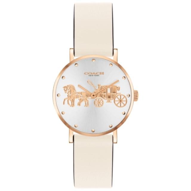【COACH】經典小馬車時尚腕錶28mm(14503796)