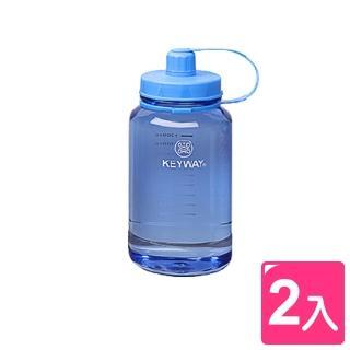 【真心良品】喝水站大容量吸管水壺1500 ml(2入)