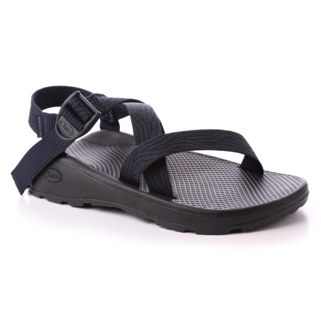 【CHACO】男 越野舒壓運動涼鞋-標準款CH-ZLM01HH28(蛇紋海軍藍)