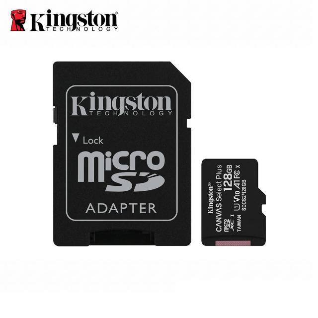 【Kingston 金士頓】Kingston Canvas Select Plus microSDXC 128GB 記憶卡-組合用(★SDCS2/128GB)