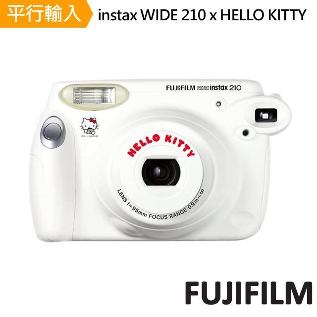 【FUJIFILM 富士】instax WIDE 210 寬幅機 HELLO KITTY版本+20張底片(平行輸入)