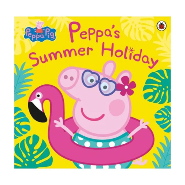 【Song Baby】Peppa Pig:Peppa's Summer Holiday 佩佩豬的暑假(平裝繪本)