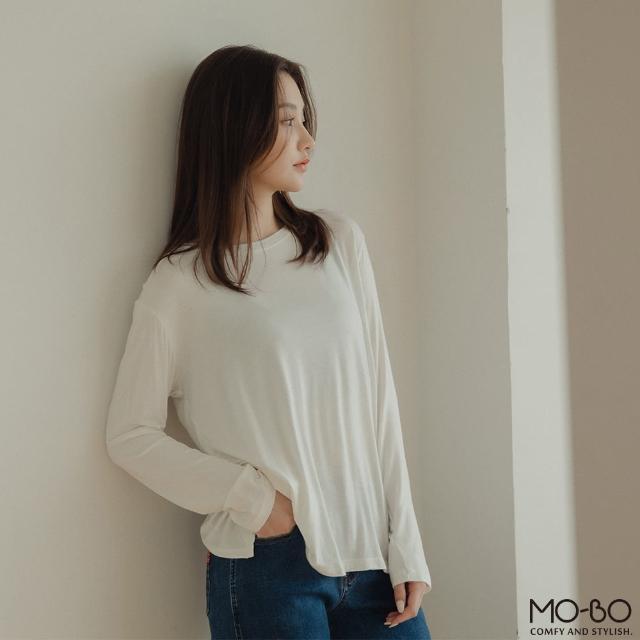 【MO-BO】MIT輕盈慢跑速乾長袖上衣(上衣)
