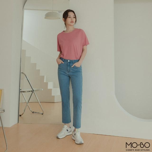 【MO-BO】魔力彈性顯瘦丹寧褲(褲子)
