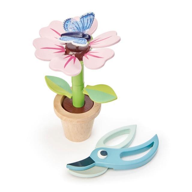 【Tender Leaf Toys】小花盆栽(趣味立體木拼圖)