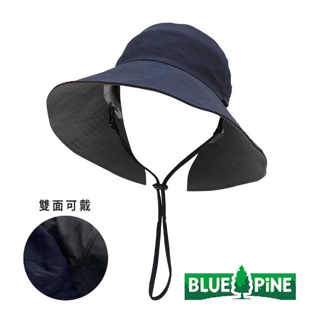 【青松戶外】雙面涼感遮陽帽-藏青/深灰 B62102-69(雙面帽/漁夫帽/休閒帽)
