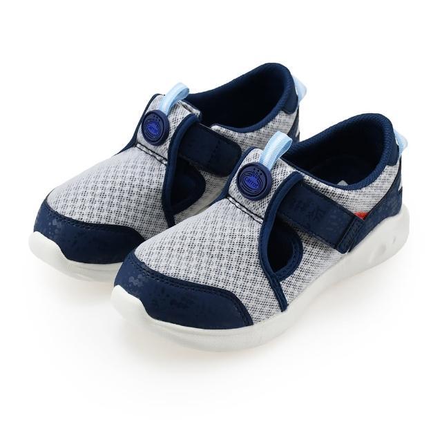 【MOONSTAR 月星】玩耍速乾可機洗童鞋(藍色)