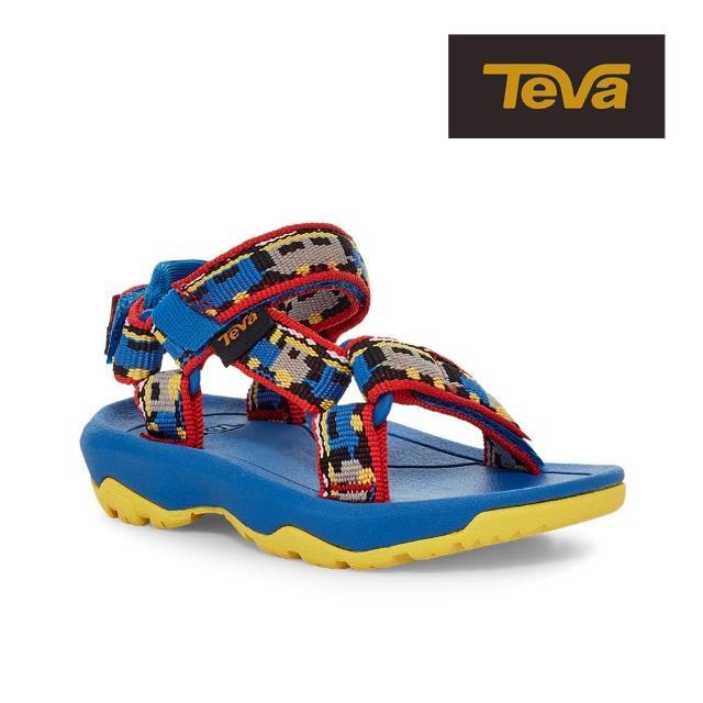 【TEVA】原廠貨 幼童 Hurricane XLT2 機能運動涼鞋/雨鞋/水鞋/童鞋(火車藍-TV1019390TTNSB)