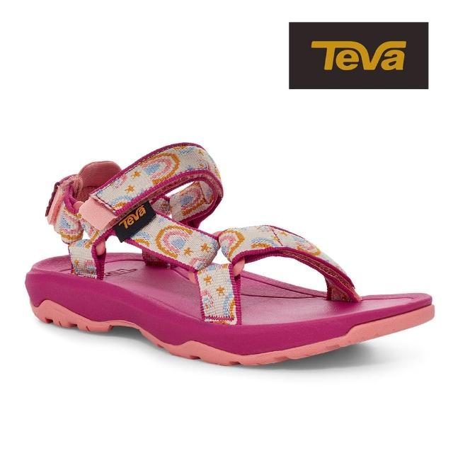 【TEVA】原廠貨 幼童 Hurricane XLT2 機能運動涼鞋/雨鞋/水鞋/童鞋(樂園粉-TV1019390TABRCH)
