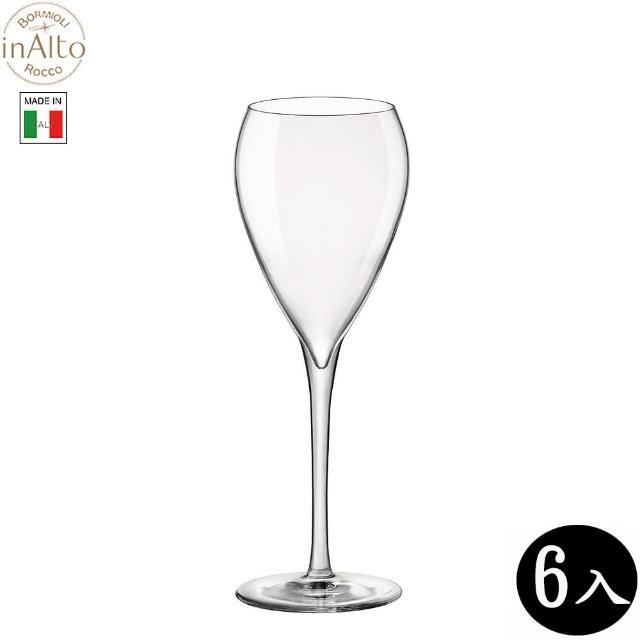 【Bormioli Rocco】InAlto Sparkling 無鉛水晶氣泡酒杯 香檳杯 215ml/6入 P60615(香檳杯)