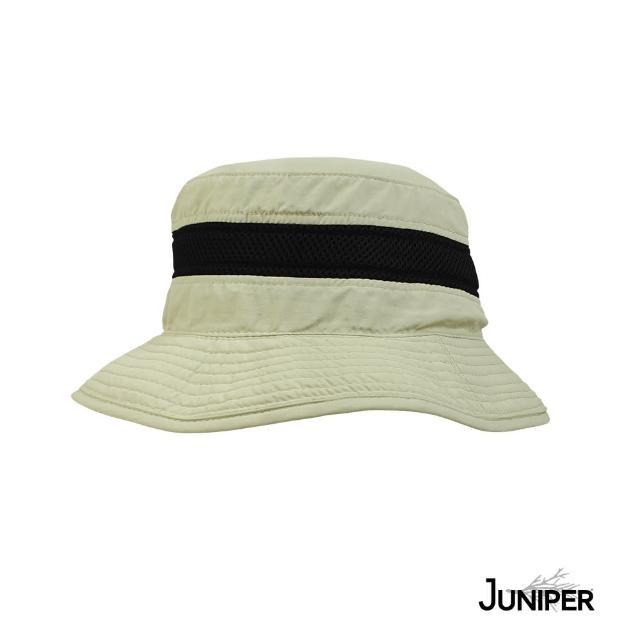 【Juniper 朱尼博】抗UV防曬防潑水披風漁夫帽 MJ7211(帽子/遮陽帽/防曬帽/後蓋片)
