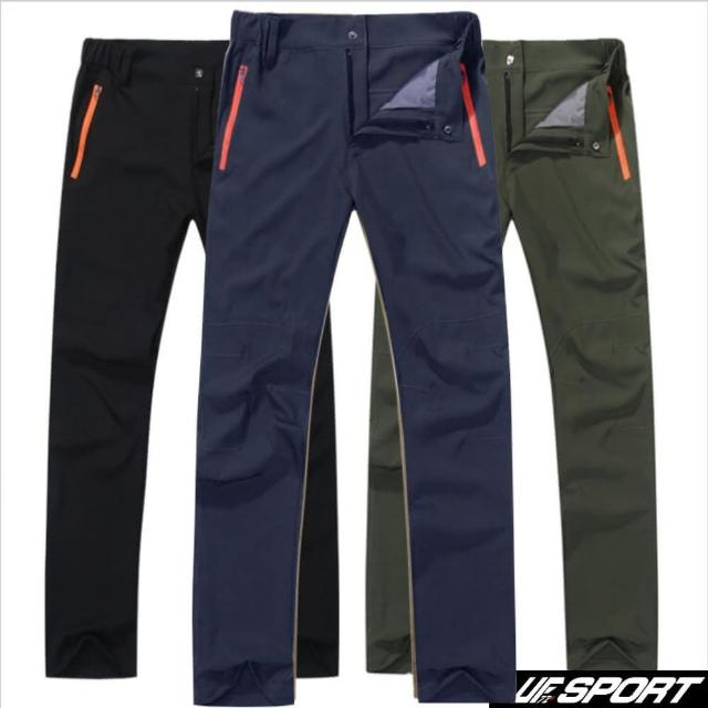【UF72+】UF-D801 抗UV防潑超涼冰晶絲速乾超耐磨抗污透氣戶外郊山褲(抗UV/防潑/涼感/登山)