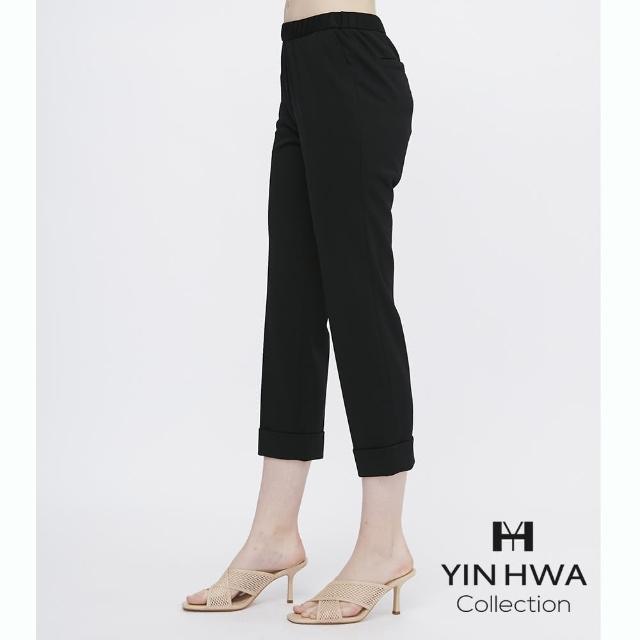 【YIN HWA 盈樺】LAPINE COLLECTION 城市休閒風簡約反折褲