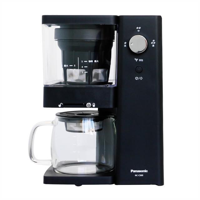 【Panasonic 國際牌】5人份冷萃專業咖啡機-咖啡/泡茶兩用(NC-C500)