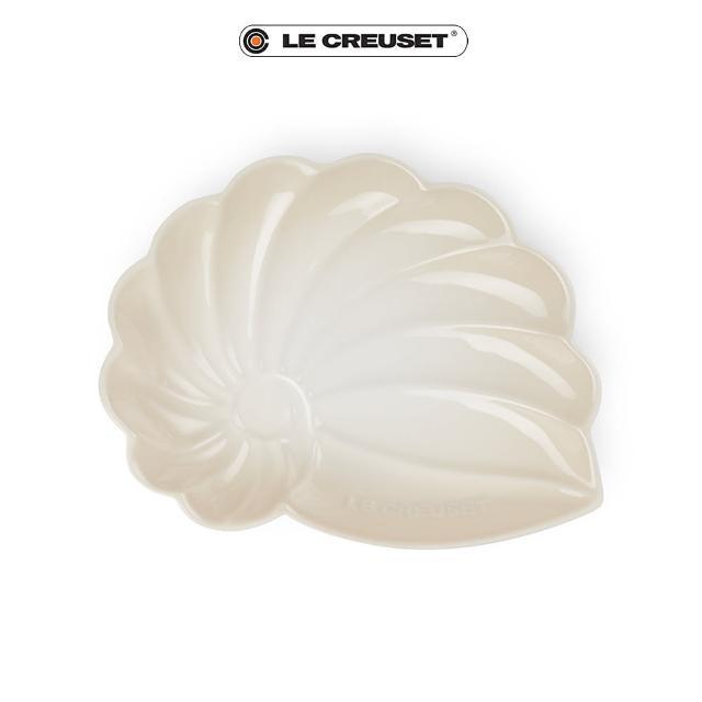 【Le Creuset】瓷器海螺貝殼盤-大(蛋白霜)