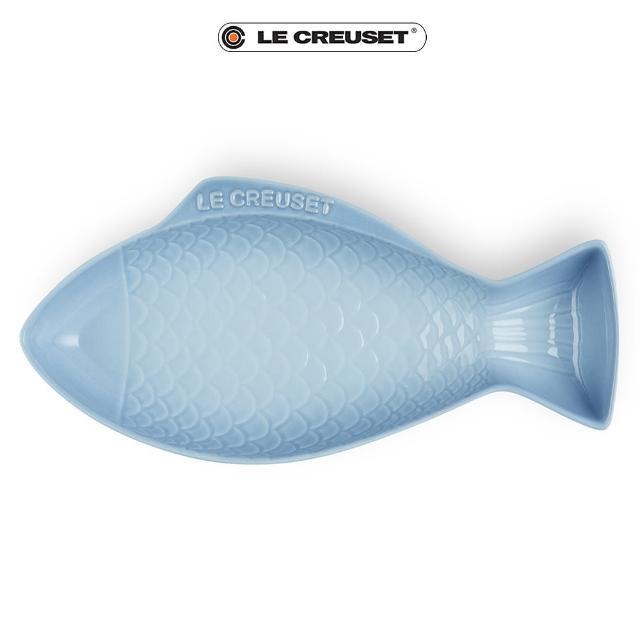 【Le Creuset】瓷器鮮魚盤-大(海岸藍)