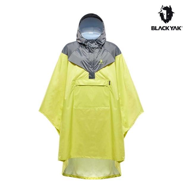 【BLACK YAK】YAK 斗篷式雨衣[萊姆色]BYAB1NJ101(韓國 戶外 登山雨衣 男女款)