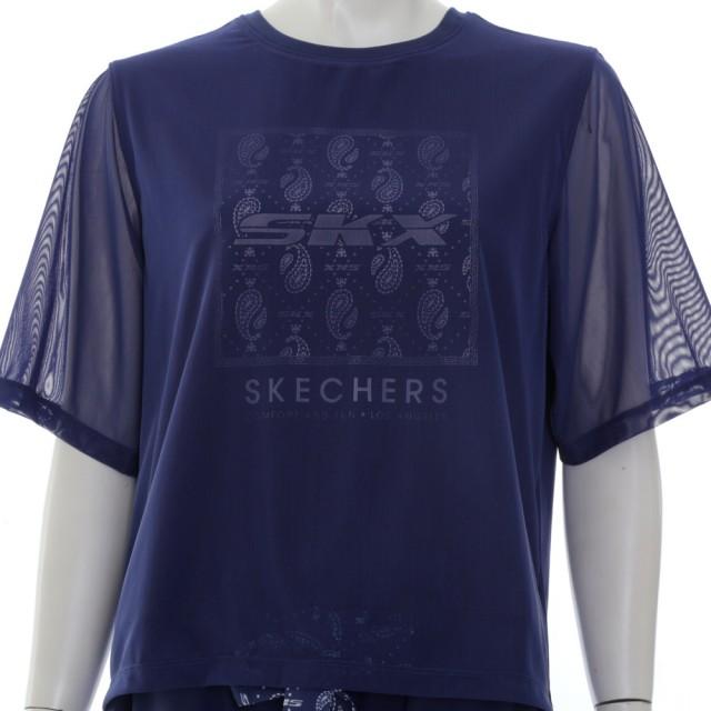【SKECHERS】女短袖衣(L221W167-007D)