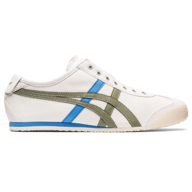 【Onitsuka Tiger】鬼塚虎 官方旗艦店 MEXICO 66 SLIP-ON 休閒鞋 白色(1183A360-107)