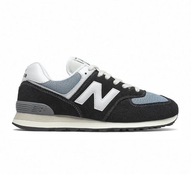 【NEW BALANCE】復古 休閒鞋 男鞋 黑色 D楦(ML574HF2)