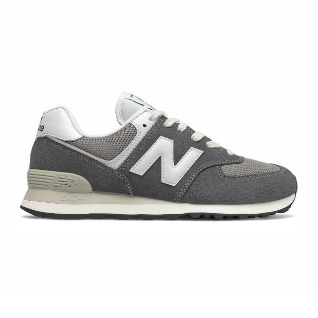 【NEW BALANCE】復古休閒鞋 男鞋 深灰 D楦 男女款(ML574HD2)