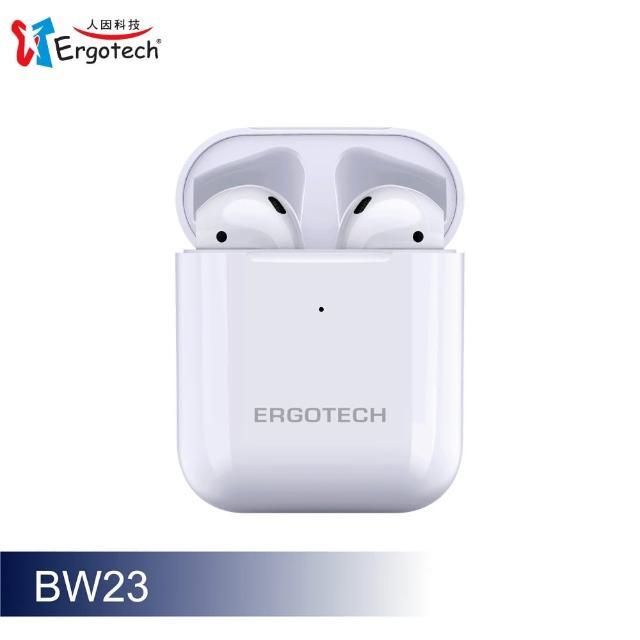 【Ergotech 人因科技】人因 BW23W 人體工學觸控式真無線藍牙耳機(藍芽耳機)