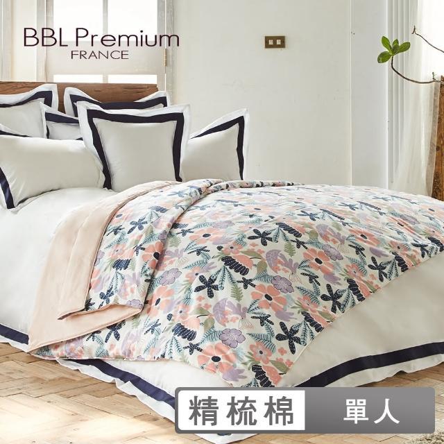 【BBL Premium】100%精梳棉.印花涼被-花花狂想曲(單人)