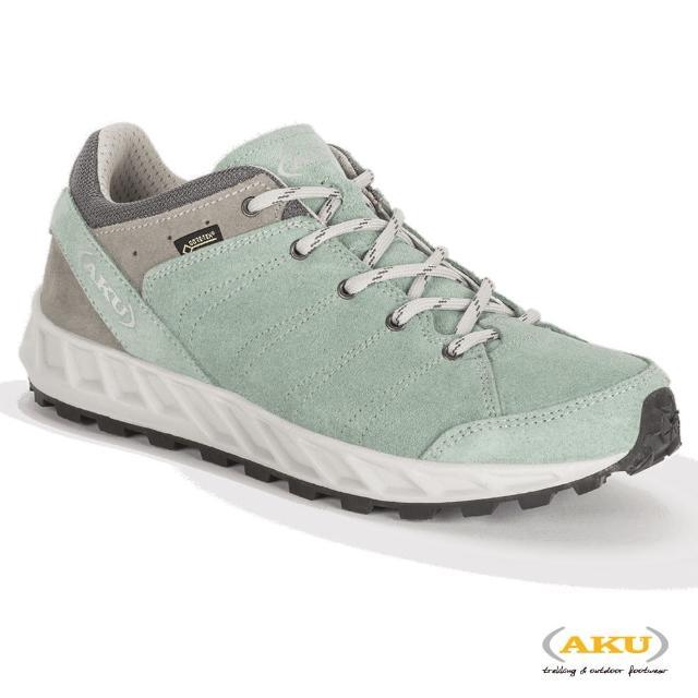 【AKU】女 多功能輕量休閒鞋 海藍綠 RAPIDA GTX(AK763-320/登山鞋/健行鞋)