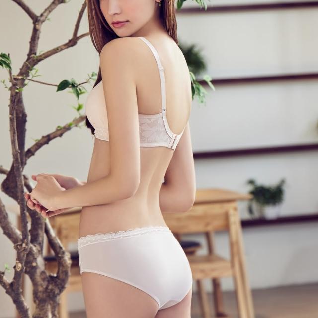 【瑪登瑪朵】無鋼圈 低腰寬邊三角褲(潤澤膚)