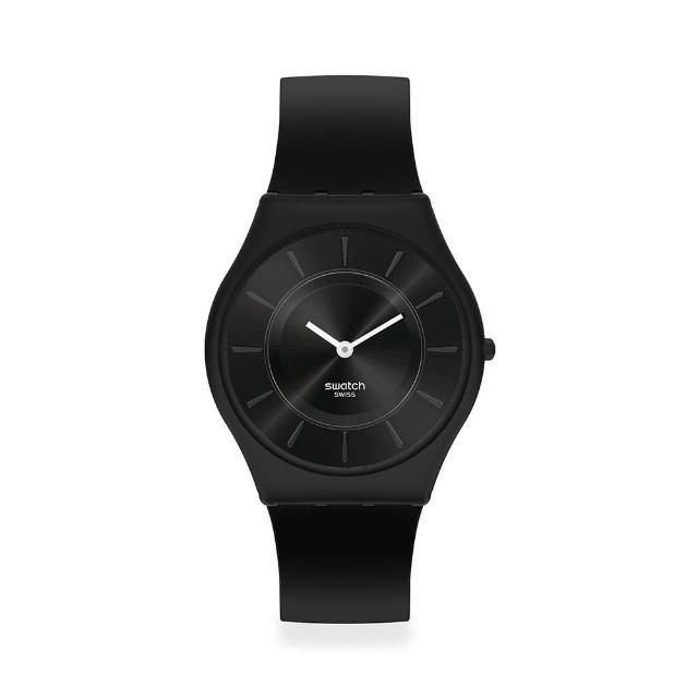 【SWATCH】SKIN超薄系列手錶LIQUIRIZIA燕尾服(34mm)