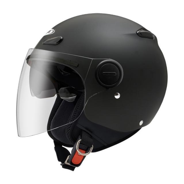【ZEUS】210BC 素色 消光黑 S 3/4罩(安全帽│機車│內襯│鏡片│半罩│全可拆│開放式安全帽│GOGORO)