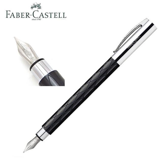 【Faber-Castell】輝柏 德國製 成吉思汗 天然樹脂筆桿 鋼筆F尖148921(鋼筆)