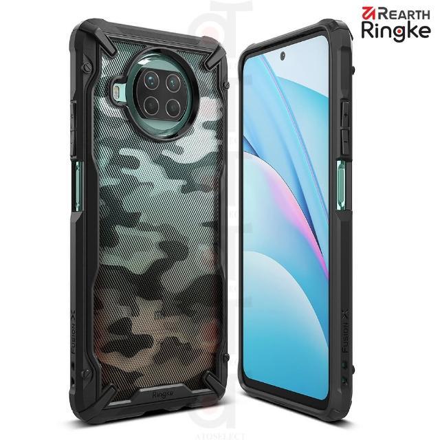 【Ringke】小米 10i / 10T Lite 5G Fusion X 防撞手機保護殼-迷彩黑(小米10T Lite 5G 防撞手機保護殼)