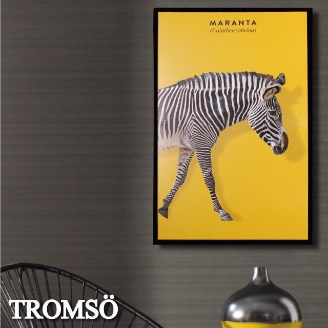 【TROMSO】北歐時代風尚有框畫-摩登斑馬WA180(無框畫掛畫掛飾抽象畫)