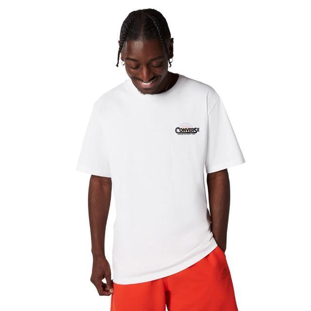 【CONVERSE】CLASSIC SCRIPT TEE WHITE 男 短袖上衣 白色(10021516-A02)