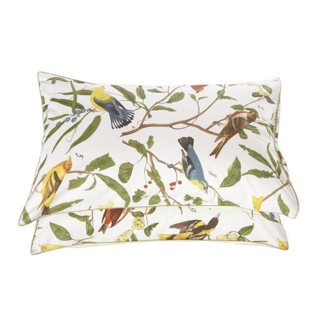 【出清特價】埃及棉信封式枕頭套 一對(多款式)