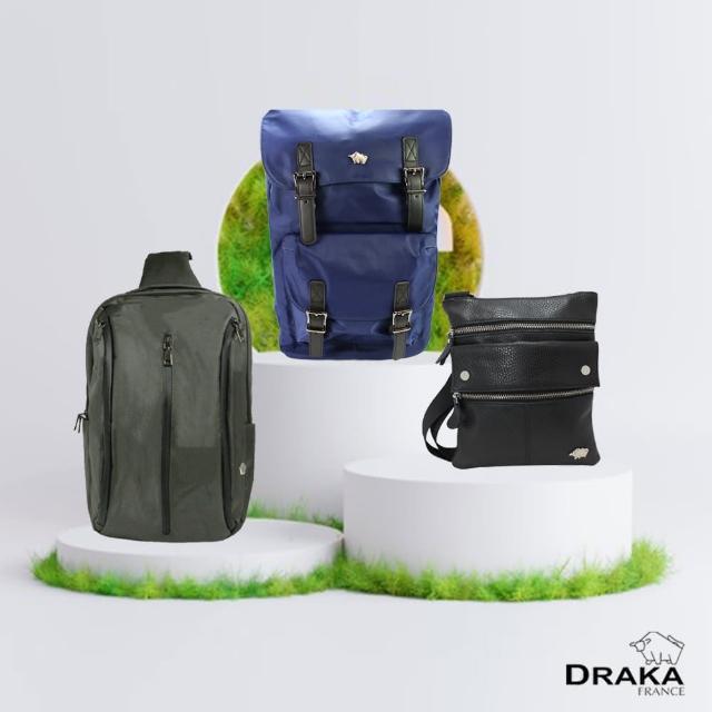 【DRAKA 達卡】登山客口碑推薦-後背包/斜背包(多款任選)