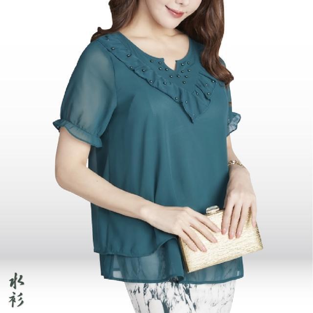 【水衫】柔美優姿雪紡上衣五件組(J03-15)