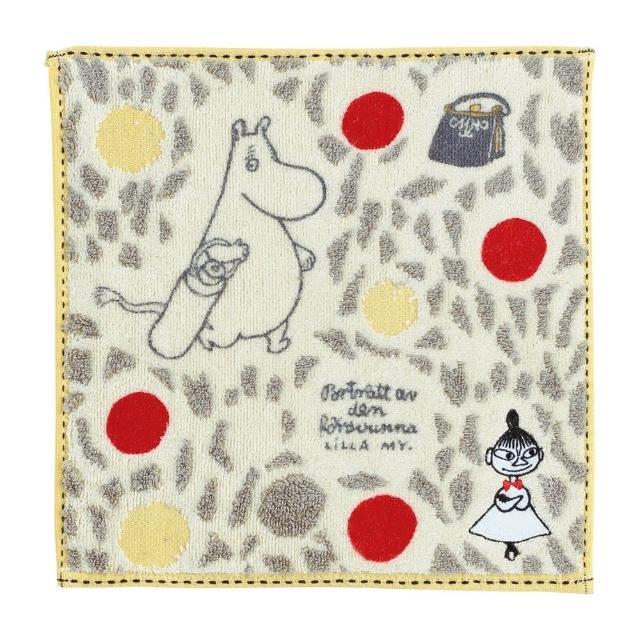 【Marushin 丸真】Moomin炫彩圓圈小方巾(小方巾)