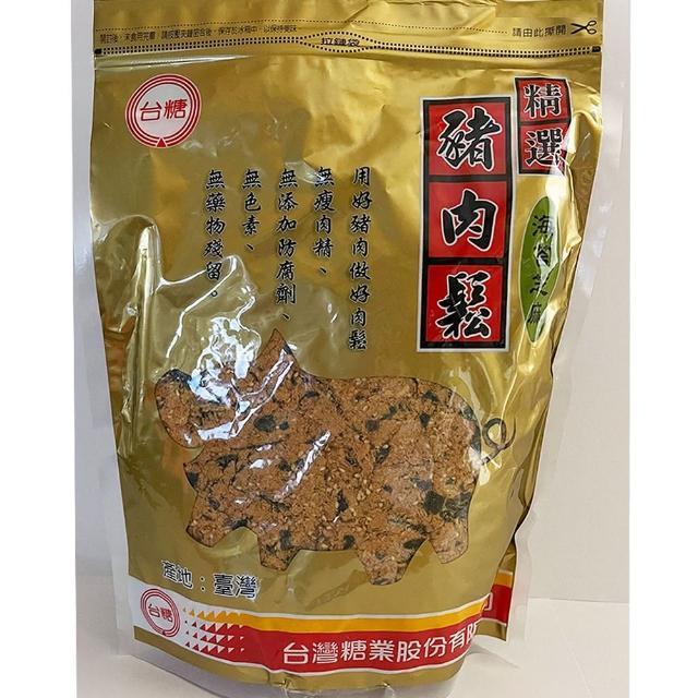 【台糖】精選豬肉鬆-海苔芝麻(1kg/包)
