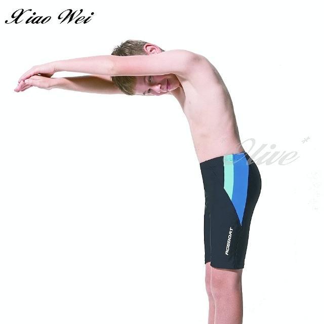 【梅林品牌】男童四角泳褲(NO.M02328)