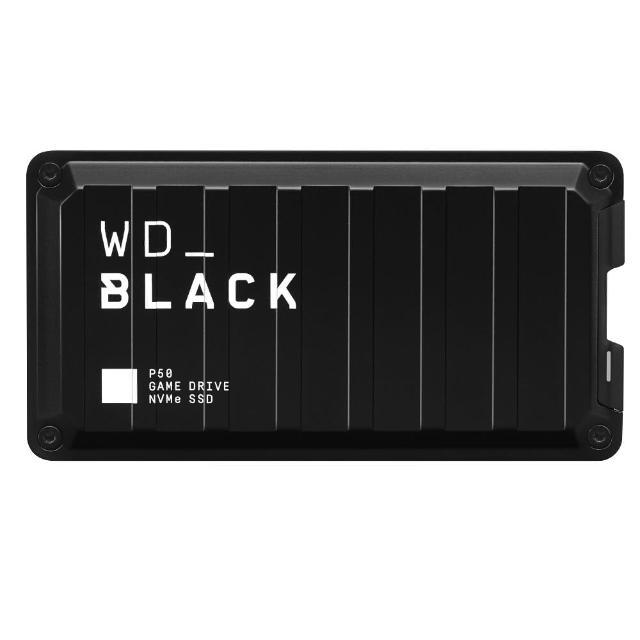 【WD 威騰】黑標 P50 Game Drive_4TB 電競外接式固態硬碟(USB 3.2 Gen 2x2/Type-C)