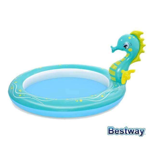 【BESTWAY】小海馬噴水兒童泳池(泳具 遊戲池 泳池)
