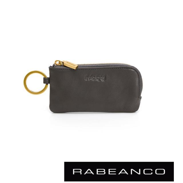 【RABEANCO】迷時尚系列鑰匙零錢包(深灰)