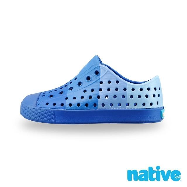 【native】小童鞋 JEFFERSON 小奶油頭鞋(以藍之名)